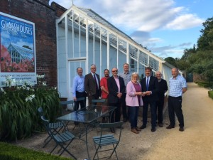 WSGA Donation to West Dean Glassghouse Funde
